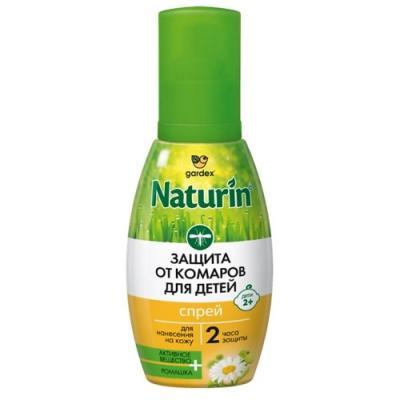 Naturin Спрей от комаров для детей с 2 лет 75 мл крем гель gardex naturin от комаров 50 мл