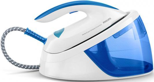 Парогенератор Philips GC6804/20 2400Вт белый синий парогенератор philips gc9635 20