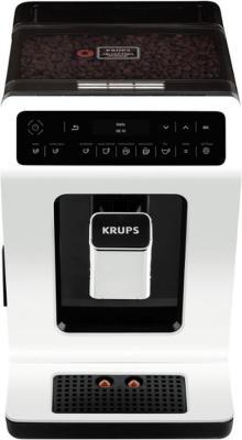 Кофемашина Krups EA890110 белый черный 8000036179 кофеварка рожкового типа krups xp344010