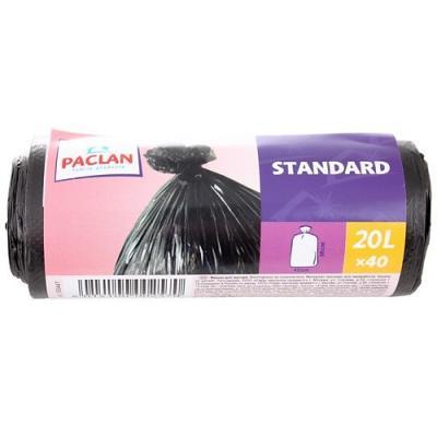 PACLAN Мешки для мусора STANDART 20л 40шт атс ip yeastar standart