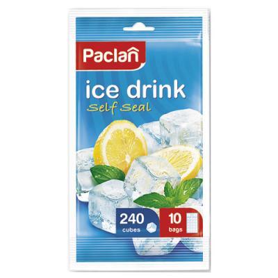 PACLAN Мешочки для приготовления ледяных кубиков 10*24шт