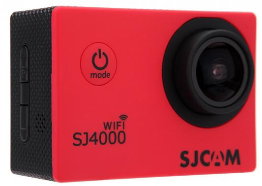 Экшн-камера SJCAM SJ4000 Wi-Fi 1xCMOS 3Mpix красный