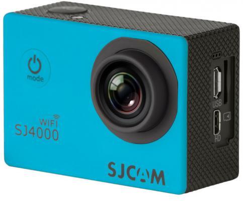 Экшн-камера SJCAM SJ4000 Wi-Fi 1xCMOS 3Mpix синий