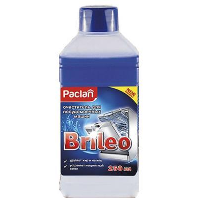 Paclan Brileo Очиститель для посудомоечных машин 250 мл paclan brileo таблетки для посудомоечных машин classic 14 шт