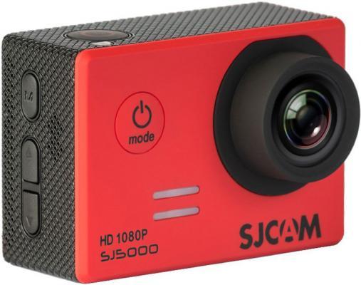 Экшн-камера SJCAM SJ5000 1xCMOS 14Mpix красный