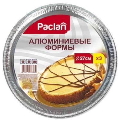 PACLAN АЛЮМИНИЕВЫЕ ФОРМЫ, КРУГЛЫЕ, 3ШТ paclan