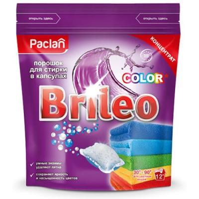 Стиральный порошок PACLAN Color 12шт порошокстиральныйcolor автомат3кг
