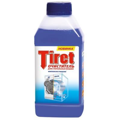 TIRET Очиститель для стиральных машин 250мл спрей очиститель для маркерных досок silwerhof white board clean 250мл 671209