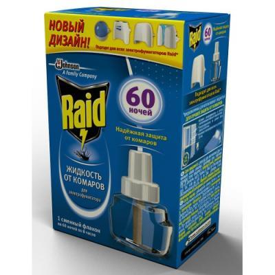RAID Жидкость для фумигатора 60 ночей купить шины 195 60 15 зима