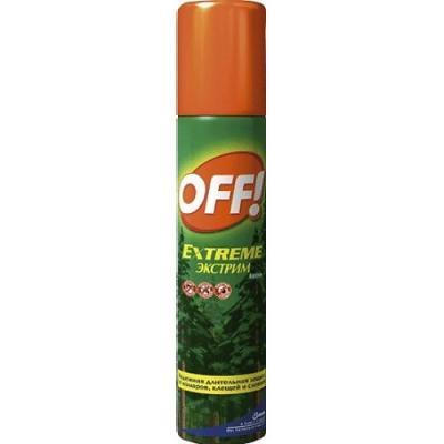 OFF! спрей от комаров и клещей Экстрим 100 мл гардекс фэмили спрей от комаров 100 мл