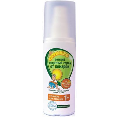 МОЕ СОЛНЫШКО Спрей от комаров детский защитный 100мл мое солнышко спрей детский от комаров защитный 100 мл