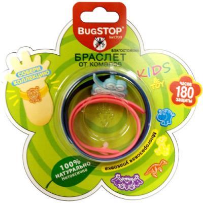 BugSTOP Браслет от комаров KIDS&TOY 1 шт 1 игрушка