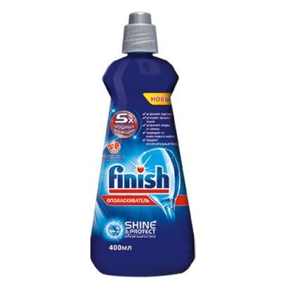 FINISH Блеск Экспресс сушка Ополаскиватель для посуды в посудомоечных машинах 400мл