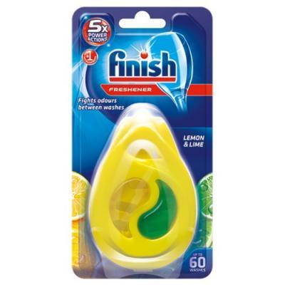 FINISH Освежитель для посудомоечных машин Лимон и Лайм 5г соль для посудомоечных машин snowter 1 5 кг
