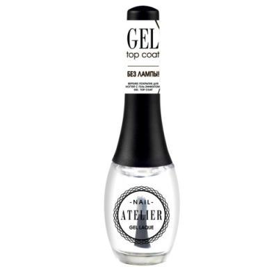 VS Верхнее покрытие для ногтей с гель-эффектом / Gel Top Coat Nail Atelier vivienne sabo gel laque nail atelier гель лак для ногтей тон 119 12 мл