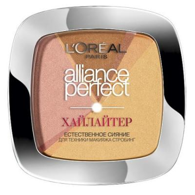 LOREAL ALLIANCE PERFECT Хайлайтер тон 102D золотой от 123.ru