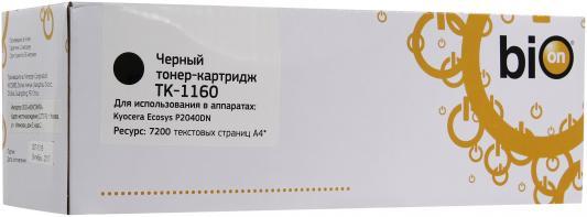 Картридж Bion TK-1160 для Kyocera-Mita P2040dn/P2040dw черный 7200стр