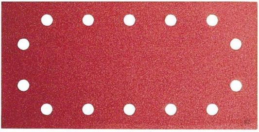 Набор шлифлистов Bosch 115x230мм K120 B.f.W+P 50шт 2608607935 bosch из 10 шлифлистов для виброшлифмашин 2609256a86