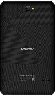 "Планшет Digma Plane 8558 4G 8"" 16Gb черный LTE Wi-Fi Bluetooth 3G Android PS8172PL"