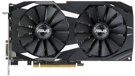 Видеокарта ASUS Radeon RX 580 DUAL-RX580-4G PCI-E 4096Mb 256 Bit Retail (DUAL-RX580-O4G)