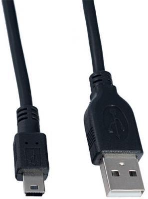 Кабель miniUSB 1.8м Perfeo U4302 круглый черный