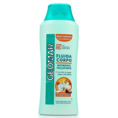 GEOMAR Молочко-флюид для тела Питание и Бархатистость 300мл geomar молочко для тела geomar fluida corpo geomar 300 мл