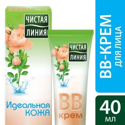 ЧИСТАЯ ЛИНИЯ ВВ-крем 10 в 1 Идеальная кожа 40мл