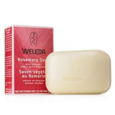Мыло твердое WELEDA 9882 100 гр christina пилинговое мыло rose de mer peeling soap набор 15 шт 450 гр