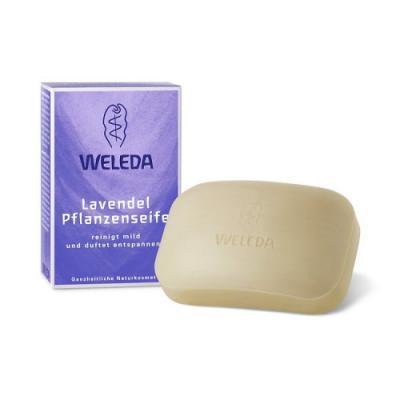 Мыло твердое WELEDA 9816 100 гр christina пилинговое мыло rose de mer peeling soap набор 15 шт 450 гр