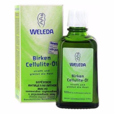 WELEDA Березовое антицеллюлитное масло 100 мл
