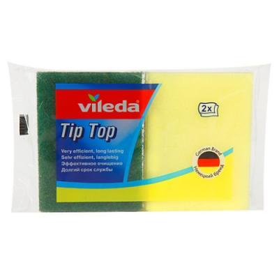 ВИЛЕДА Губка для посуды Тип Топ 2 шт виледа губка для посуды пур актив 2 шт