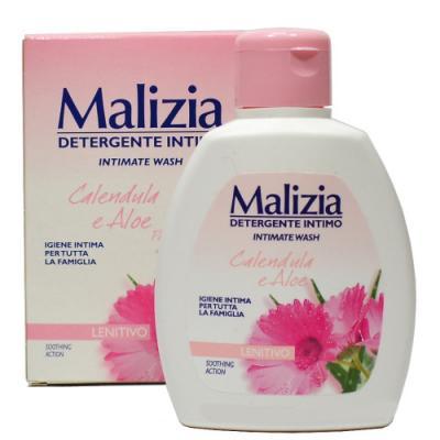 Malizia Гель для интимной гигиены календула и алоэ 200 мл от 123.ru