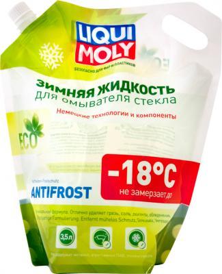 Зимняя жидкость для омывателя стекла ANTIFROST Scheibenfrostschutz -18 (дой-пак) незамерзайка для омывателя стекла 4л liqui moly antifrost scheiben frostschutz 25с 00369