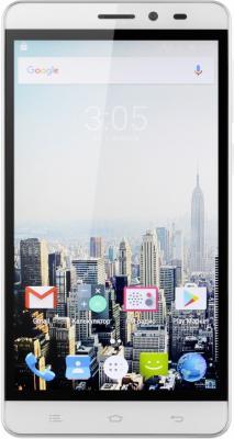 Смартфон Digma Vox S505 3G белый 5 8 Гб Wi-Fi GPS 3G VS5017MG планшет digma plane 1601 3g ps1060mg black