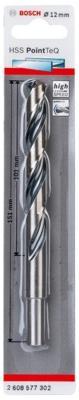 Сверло Bosch 2608577302 спиральное PointTec 12мм сверло bosch 2608577302 спиральное pointtec 12мм
