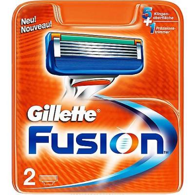 GILLETTE Fusion Сменные кассеты 2шт недорого