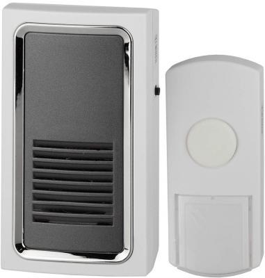 Звонок дверной беспроводной Эра C96 белый серый звонок беспроводной дверной 32 мелодии белый