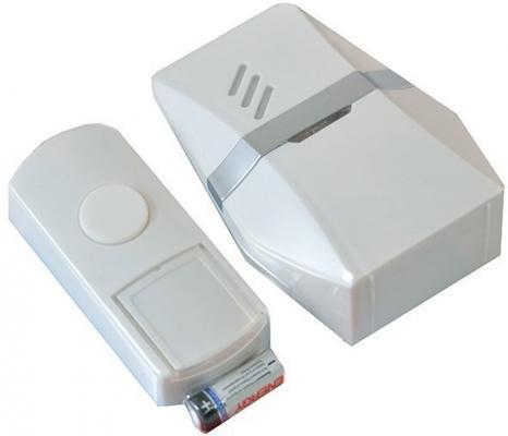 Звонок дверной беспроводной Эра C81 белый светодиодный беспроводной перезвон дверной звонок дверной звонок