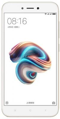 Смартфон Xiaomi Redmi 5A золотистый 5 16 Гб LTE Wi-Fi GPS 3G REDMI5AGD16GB смартфон philips xenium s327 синий 5 5 8 гб lte wi fi gps 3g