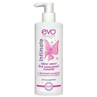 EVO Крем-мыло для интимной гигиены 200мл цена