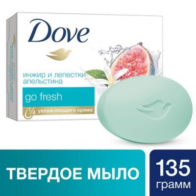 Мыло твердое Dove Инжир и лепестки апельсина 130 гр