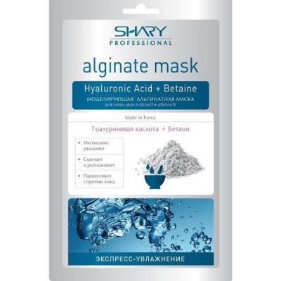 SHARY Professional Маска моделирующая альгинатная Гиалуроновая кислота Бетаин 28г маска д лица shary глубокое питание гиалуроновая кислота ма