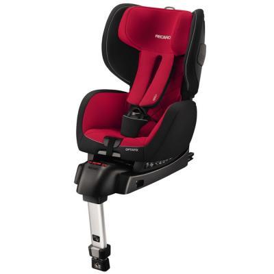 Автокресло Recaro OptiaFix (racing red) автокресло recaro recaro автокресло milano seatfix xenon blue синее