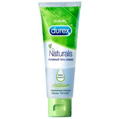 DUREX Naturals Интимная гель-смазка 100мл смазка durex play cherry