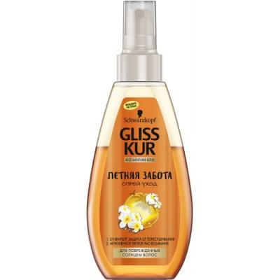 GLISS KUR Cпрей-уход Летняя забота cпрей clean