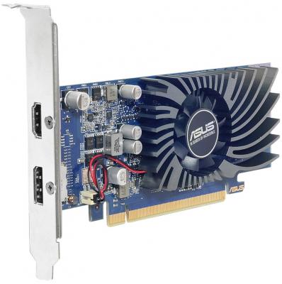 Видеокарта 2048Mb Asus GeForce GT1030 PCI-E GT1030-2G-BRK Retail видеокарта 6144mb msi geforce gtx 1060 gaming x 6g pci e 192bit gddr5 dvi hdmi dp hdcp retail