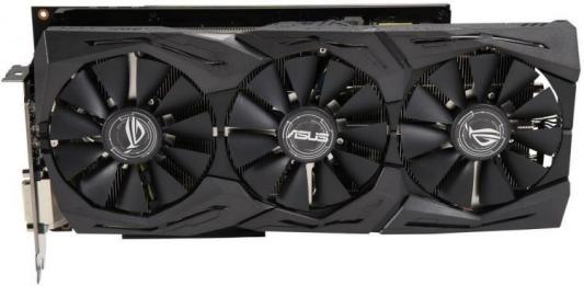 Видеокарта ASUS Radeon RX Vega 56 ROG-STRIX-RXVEGA56-O8G-GAMING PCI-E 8192Mb 2048 Bit Retail (ROG-STRIX-RXVEGA56-O8G-GAMING) e blue ems618 wired gaming mouse white