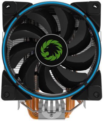 Кулер для процессора GameMax Gamma 500 Blue Socket 775/1150/1151/1155/1156/2066/AM2/AM2+/AM3/AM3+/FM1/AM4/754/939/940 кулер для процессора arctic cooling alpine 64 gt rev 2 socket am2 am2 am3 754 939 ucaco p1600 gba01