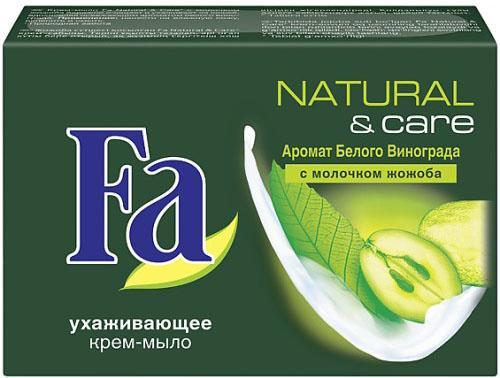 Мыло твердое Fa Natural & Care 90 гр