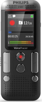 Цифровой диктофон Philips DVT2510/00 диктофон philips dvt1200